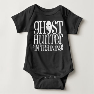 Ghost Hunter (In Training) Halloween Baby Bodysuit