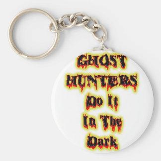 Ghost Hunter Basic Round Button Keychain