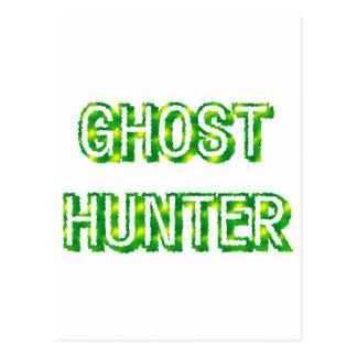 Ghost Hunter Postcard