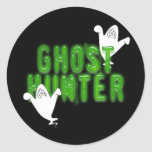 Ghost Hunter Round Stickers