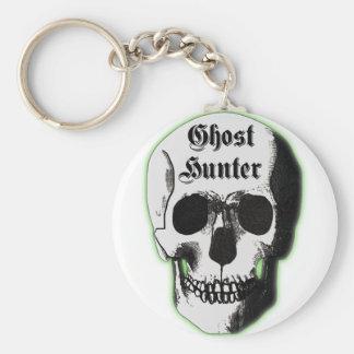 Ghost Hunter Skull Keychain