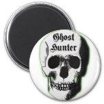 Ghost Hunter Skull Magnet