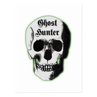 Ghost Hunter Skull Postcard