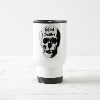 Ghost Hunter Skull Travel Mug