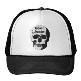 Ghost Hunter Skull Trucker Hat