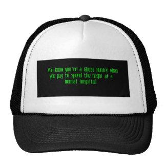 Ghost Hunter Trucker Hat