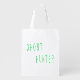 Ghost Hunter Grocery Bags