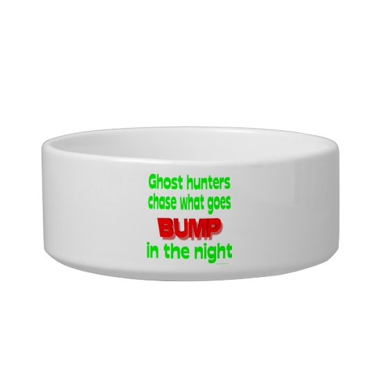 Ghost Hunters Chase What Goes Bump Bowl