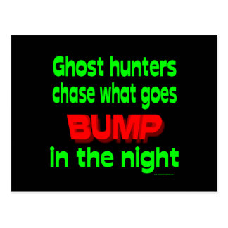 Ghost Hunters Chase What Goes Bump Postcard