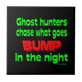 Ghost Hunters Chase What Goes Bump Tiles
