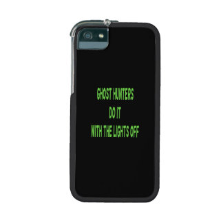 Ghost Hunters Do It  - Black Background iPhone 5/5S Cover