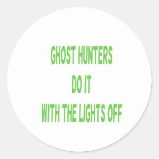 Ghost Hunters Do It Classic Round Sticker