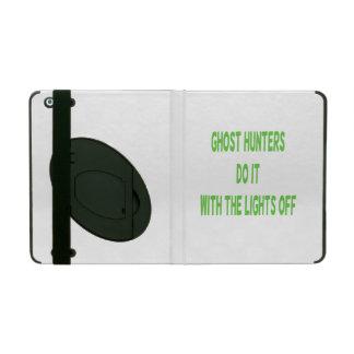 Ghost Hunters Do It iPad Folio Case