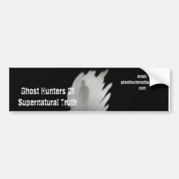 Ghost Hunters Of Supernatural Truth BumperSticker Bumper Sticker