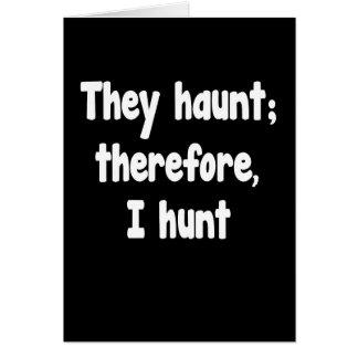 Ghost Hunter's Philosophy Card