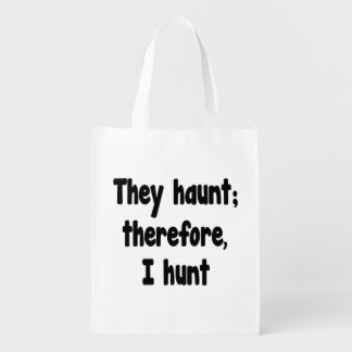 Ghost Hunter's Philosophy Grocery Bag
