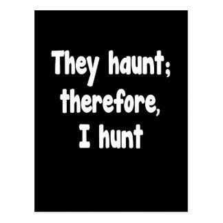 Ghost Hunter's Philosophy Postcard