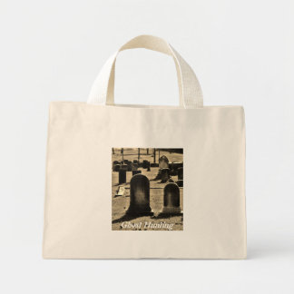 Ghost Hunting Canvas Bag
