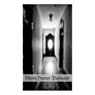 Ghost Hunting Business Card Template