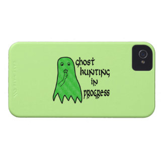 Ghost Hunting In Progress - Green Background Case-Mate iPhone 4 Cases