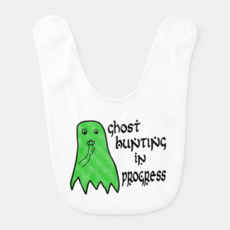 Ghost Hunting In Progress - Pick Background Color Bib