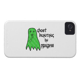 Ghost Hunting In Progress - Pick Background Color iPhone 4 Case-Mate Cases