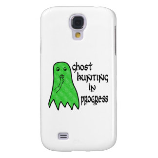 Ghost Hunting In Progress - Pick Background Color Galaxy S4 Cover