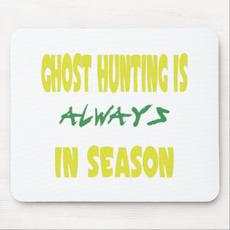 Ghost Hunting Season Mouse Pad