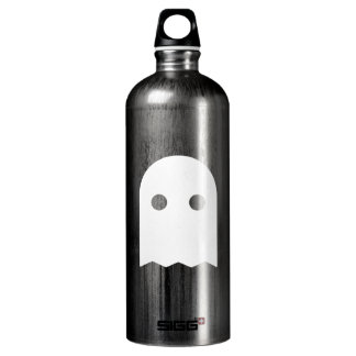 Ghost Icon Aluminum Water Bottle