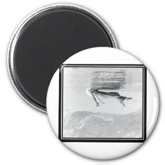 Ghost Image 2 Inch Round Magnet