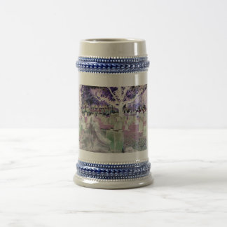 Ghost in the Cemetery Beer Stein