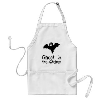 Ghost in the Kitchen spooky Apron