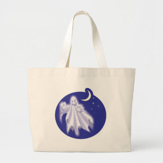 Ghost in the Sky Canvas Bags