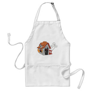 Ghost infested house apron