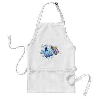 Ghost Ironing Nightmare Adult Apron