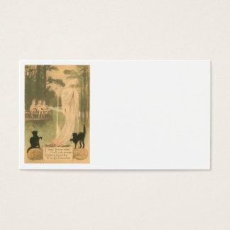 Ghost Jack O Lantern Black Cat Elves Business Card