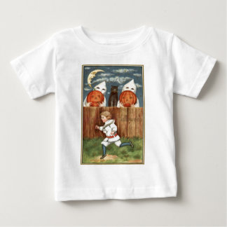 Ghost Jack O' Lantern Children Black Cat T Shirt