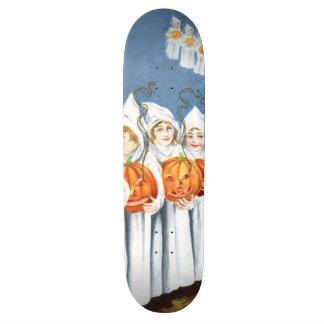Ghost Jack O Lantern Pumpkin Costume Skateboard Deck