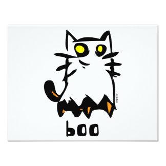 Ghost Kitty Custom Invitations