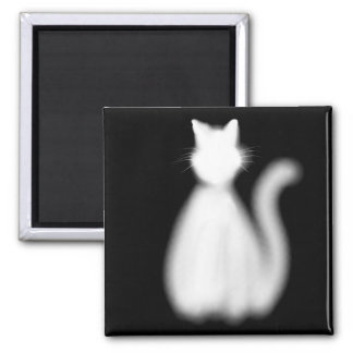 Ghost Kitty magnet
