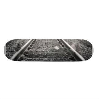 Ghost Lady On Tracks Skateboard