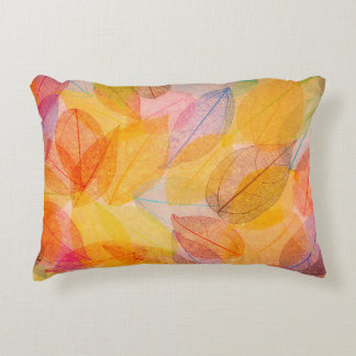 Ghost Leaves Accent Pillow
