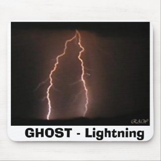 Ghost - Lightning Mouse Pad