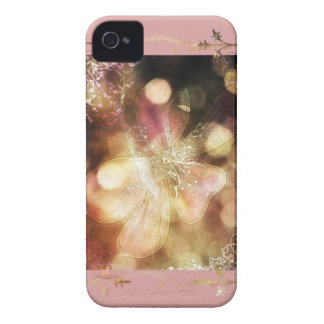 Ghost lily in pink iPhone 4 Case-Mate case