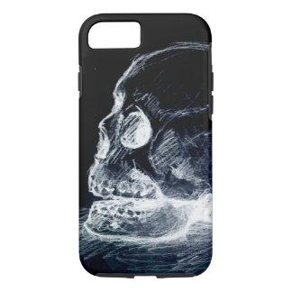 Ghost Line Skull iPhone 7 Case