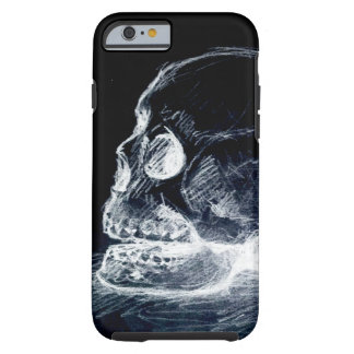 Ghost Line Skull Tough iPhone 6 Case