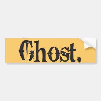 Ghost Lovers Bumper Sticker
