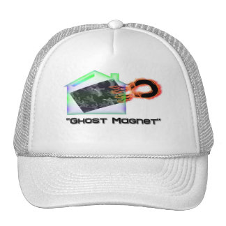 """Ghost Magnet"" Trucker Hats"