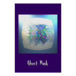 """Ghost Mask"" Print"