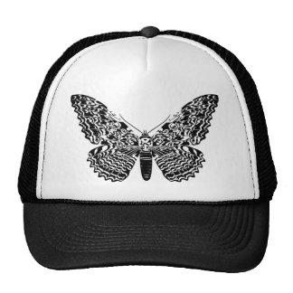 Ghost moth trucker hat